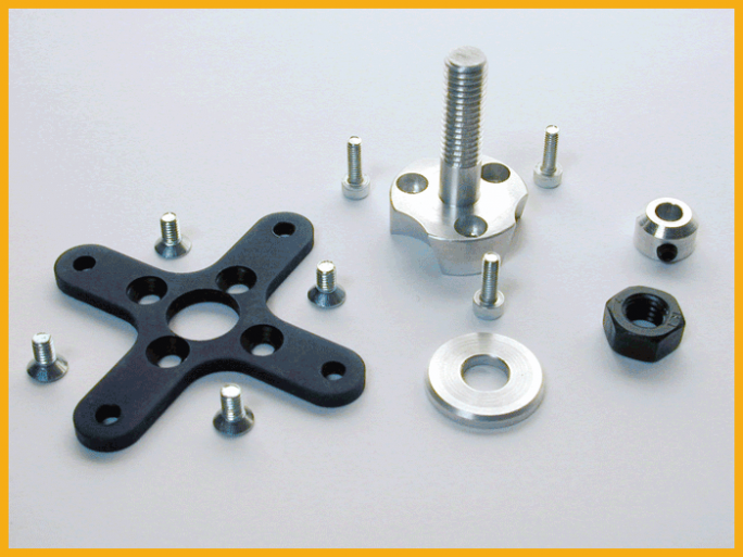 RADIAL MOUNT SET FOR AXI 2820/xx AND 2826/xx SERIES